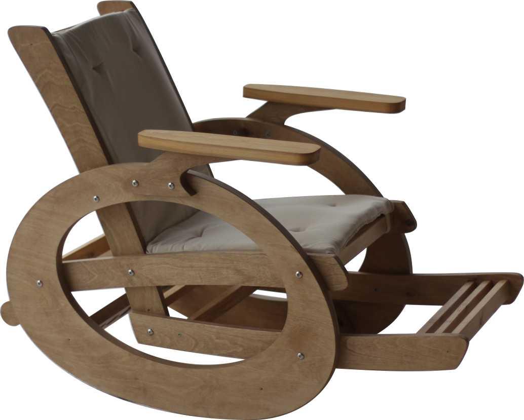 Как из фанеры сделать кресло качалку своими руками